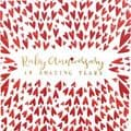 Gorgeous Embossed Hearts 'Ruby Anniversary 40 Amazing Years' Greeting Card